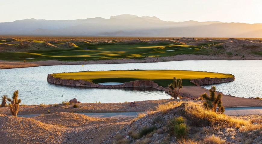 Las Vegas Paiute Golf Courses: Pete Dye-Namism Displayed