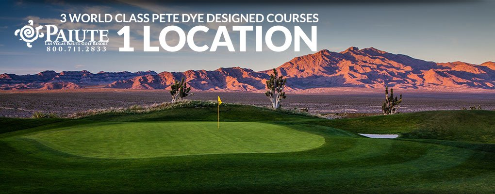 Pete Dye Design Paiute Golf Course