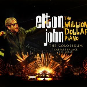 Elton John Is Perfect Show for A Night on the Town Following a Day on the Vegas Course