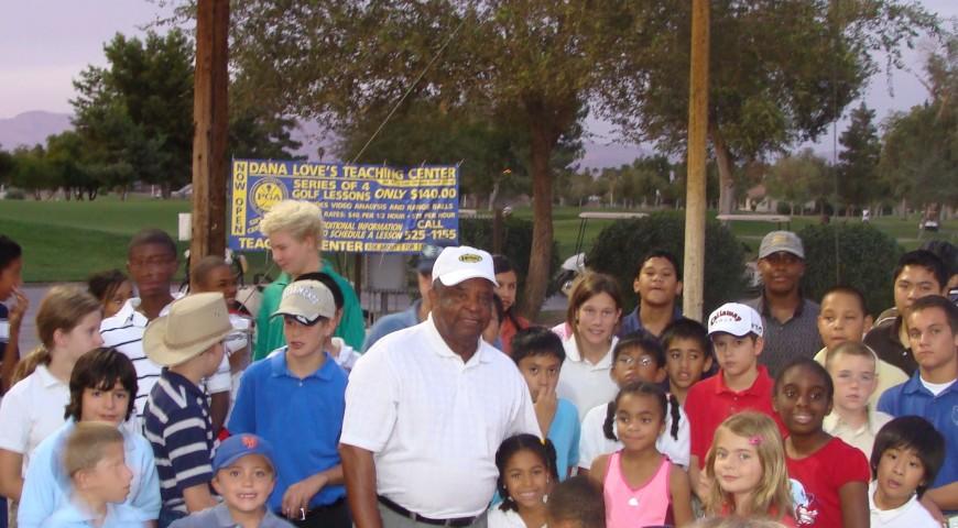 Legend Lee Elder Shares Quote About Excellence, Las Vegas Clinic